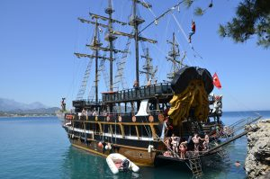 Kemer Boat Tour on a Pirate Ship